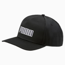 Golf Go Time Flex Snapback Hat, Puma Black, small-SEA
