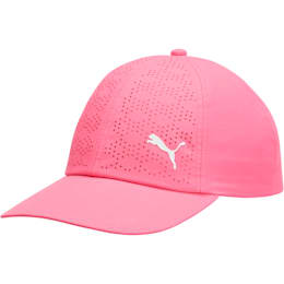 Women's DuoCell Adjustable Cap, Carmine Rose, small