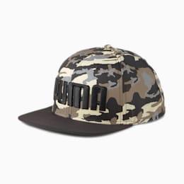 Cappellino con visiera piatta