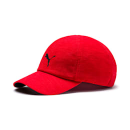 Training Stretchfit Cap, High Risk Red, small-IND