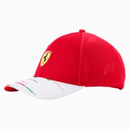 Réplica de gorra del equipo Scuderia Ferrari JR, rosso corsa, pequeño