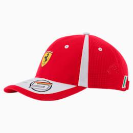 Scuderia Ferrari Replica Vettel Hat JR, rosso corsa, small