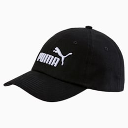 ESS Woven Kids' Cap, Puma Black-No.1, small