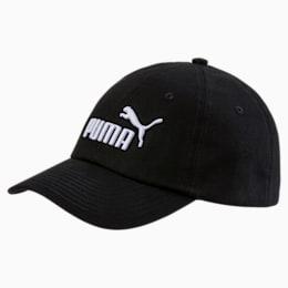 ESS Woven Kids' Cap, Puma Black-No.1, small-SEA