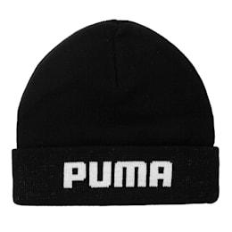 Mid Fit Beanie, Puma Black, small-IND