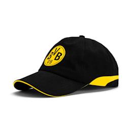 BVB Training Cap, Puma Black-Cyber Yellow, small