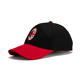 AC Milan Training Cap, Puma Black-Tango Red, small