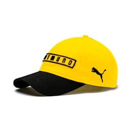 BVB Fan Cap, Puma Black-Cyber Yellow, small
