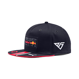 Casquette Red Bull Racing Pierre Gasly Flat Brim, NIGHT SKY-Chinese Red, small
