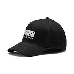 Stretchfit Baseball Cap, Puma Black, small
