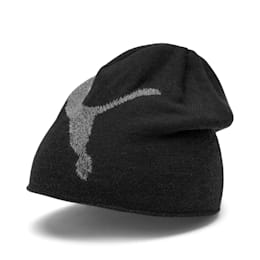 Essential Beanie, Puma Black-Big Cat, small-IND