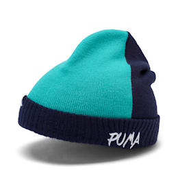 Minicats Kids' Beanie, Peacoat-Blue Turquoise, small