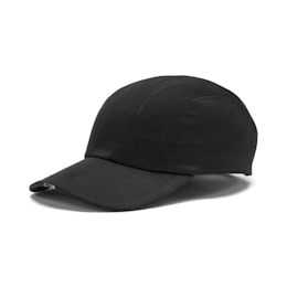 Curved 6 Panel Cap, Puma Black, small