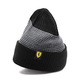 Scuderia Ferrari Fanwear Beanie, Puma Black, small