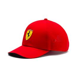 Ferrari Fanwear Kids' Baseball Cap, Rosso Corsa, small-IND