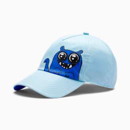 Boné de basebol Monster para criança, Aquamarine, small