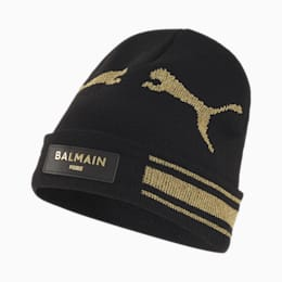 PUMA x BALMAIN Cat Beanie, Puma Black, small-SEA