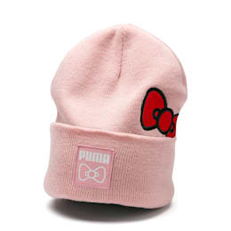 PUMA x HELLO KITTY Women's Beanie, Silver Pink, small