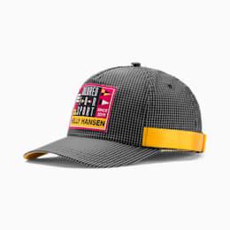 PUMA x HELLY HANSEN Baseball Cap, Puma Black-BRIGHT ROSE, small-SEA