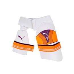 EVO dual thigh pad, Puma White, small-IND