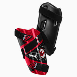 AC Milan FUTURE 5 Shin Guards, Puma Black-Tango Red, small