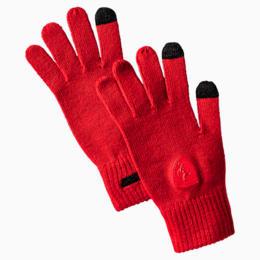 Ferrari Knit Gloves, Rosso Corsa, small-IND