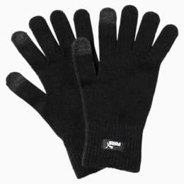 PUMA Knitted Gloves, Puma Black-N.1 LOGO, small-IND