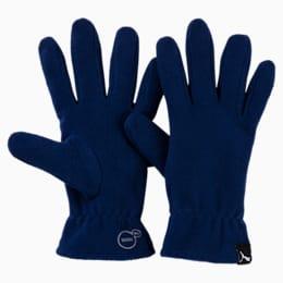 PUMA fleece gloves, Blue Depths, small-IND