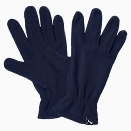 PUMA fleece gloves, Peacoat, small-IND