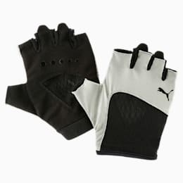 Gym Women's Gloves, Rock Ridge-Puma Black, small-IND