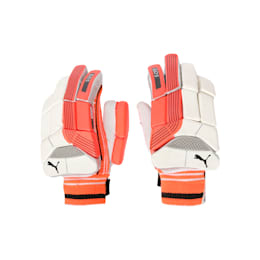 EVO 5 Batting glove, Fiery Coral-Black-White-LH, small-IND