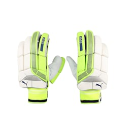 EVO 5 Batting glove, Yellow-Blue-White-LEFTHAND, small-IND
