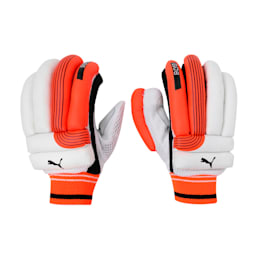EVO 6 Batting glove, Fiery Coral-Black-White-RH, small-IND