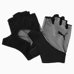 Training Women's Ambition Gym Gloves, Puma Black-Puma White, small-IND