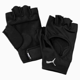 Training Essential Handschuhe, Puma Black-Gray Violet, small