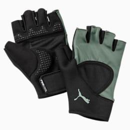 Essential Training Fingered Gloves, Puma Black-Laurel Wreath, small-IND