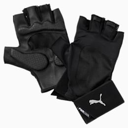 Training Herren Essential Premium Handschuhe, Puma Black-Gray Violet, small