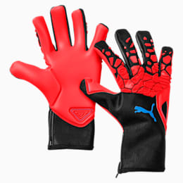 FUTURE Grip 2.1 Goalkeeper Gloves, Red Blast-Puma Black-White, small