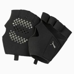 Essential Premium Grip Cut Fingered Training Gloves, Puma Black, small