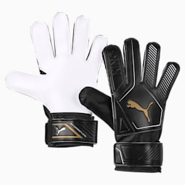 King 4 Goalkeeper Gloves, Puma Black-Gold-Puma White, small