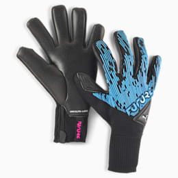 FUTURE Grip 5.1 Hybrid Torwarthandschuhe, Luminous Blue-Black-Pink, small