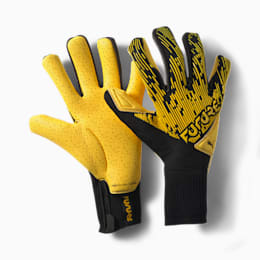 Guanti da portiere ibridi FUTURE Grip 5.1, ULTRA YELLOW-Black-White, small