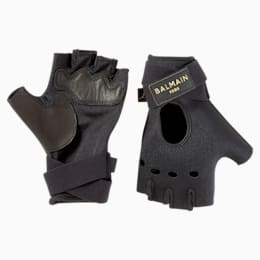 PUMA x BALMAIN Gloves, Puma Black, small-SEA
