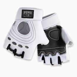 PUMA x ADRIANA LIMA Women's Training Gloves, Whisper White, small