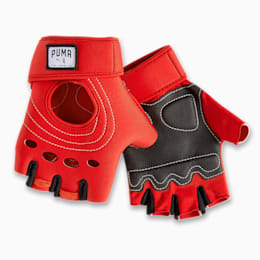PUMA x ADRIANA LIMA Women's Training Gloves, High Rise-Nrgy Red, small-IND