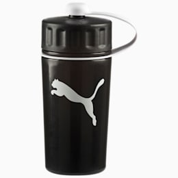 Sport Water Bottle, black-semi-transparent, small-IND
