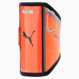 Running iPhone Arm Pocket, Shocking Orange-Black-Quarry, small-IND