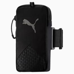 Running Arm Pocket, Puma Black-QUIET SHADE, small-IND