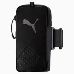 Running Arm Pocket, Puma Black-QUIET SHADE, small-SEA
