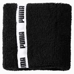 Essential Training Wristbands, Puma Black, small-SEA